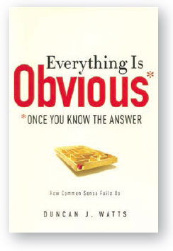 Book cover for Everything is Obvious