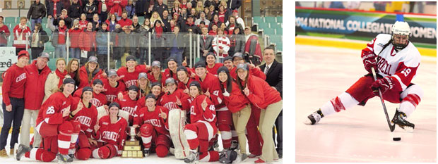 women's hockey champs