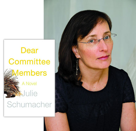 Catherine Smith and her book: Dear Committee Members