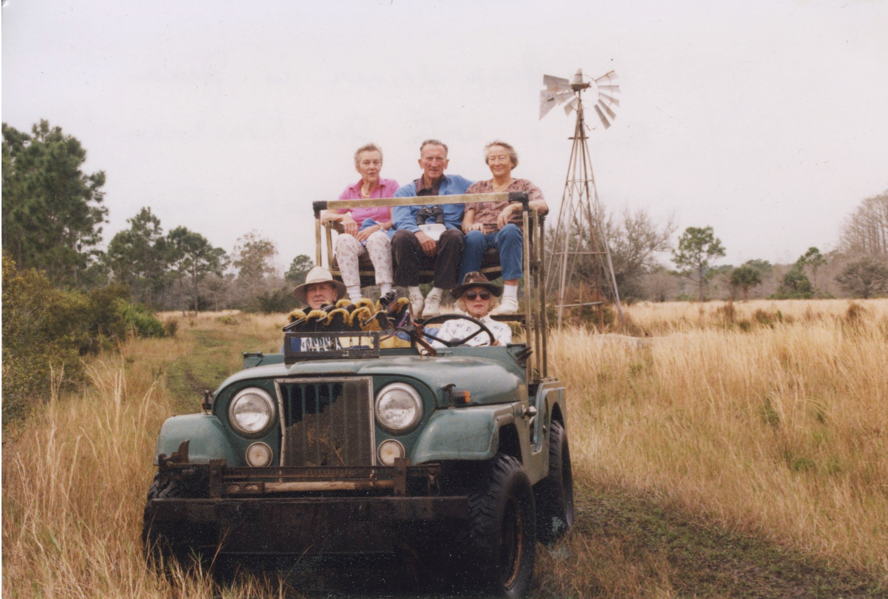 Safari in 1950s
