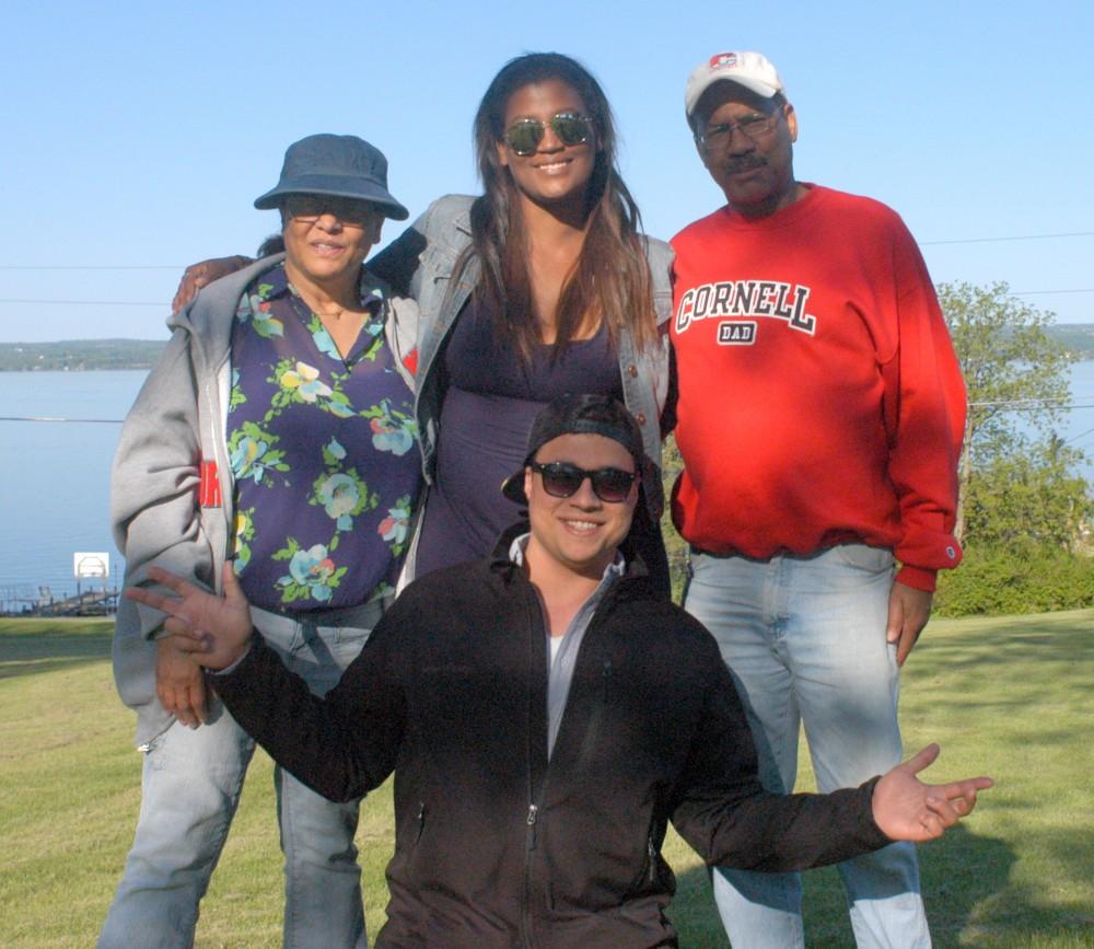 Randall Nixon with family