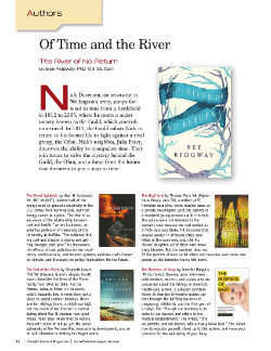 Magazine page for authors