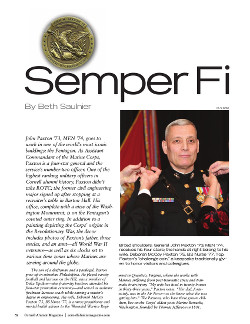 Magazine page image for Semper Fi