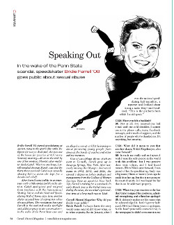 speaking out cover page