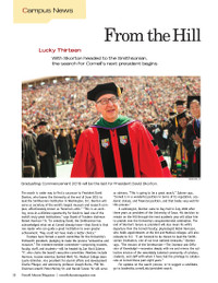 Magazine page image for From the hill