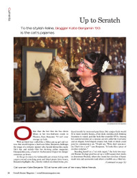 Magazine page image for up to scratch