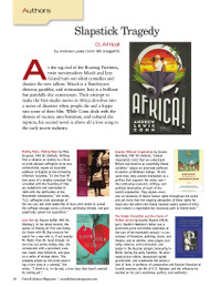 Magazine page image for authors