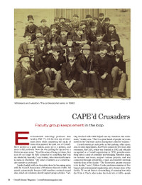 Magazine page image for cape'd crusaders