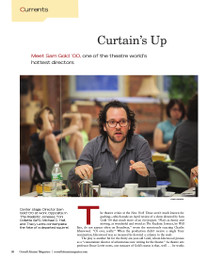 Magazine page image for curtain's up