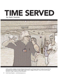 Magazine page image for time served