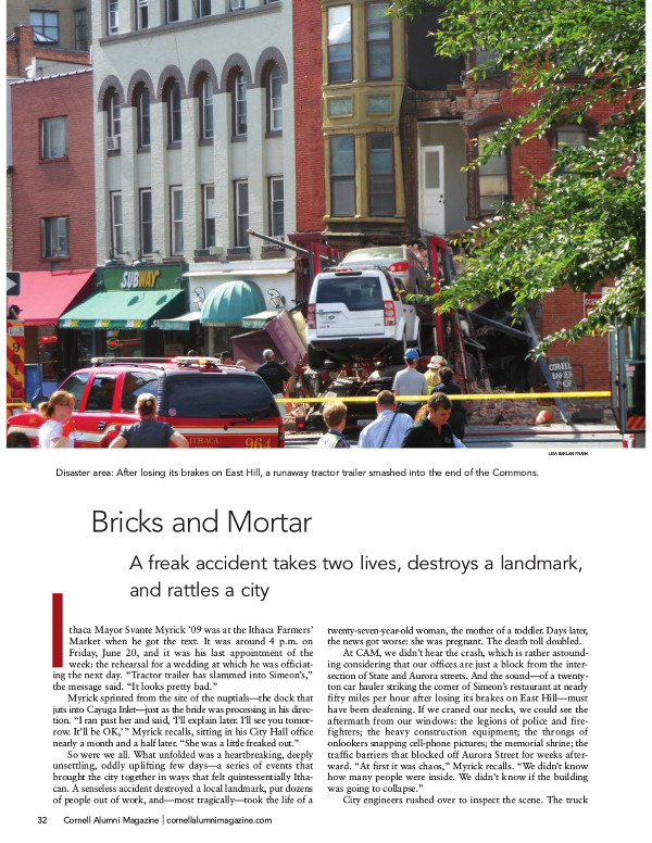 Bricks and Mortar cover