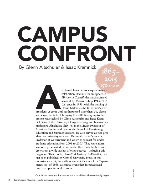 Campus Confrontation cover