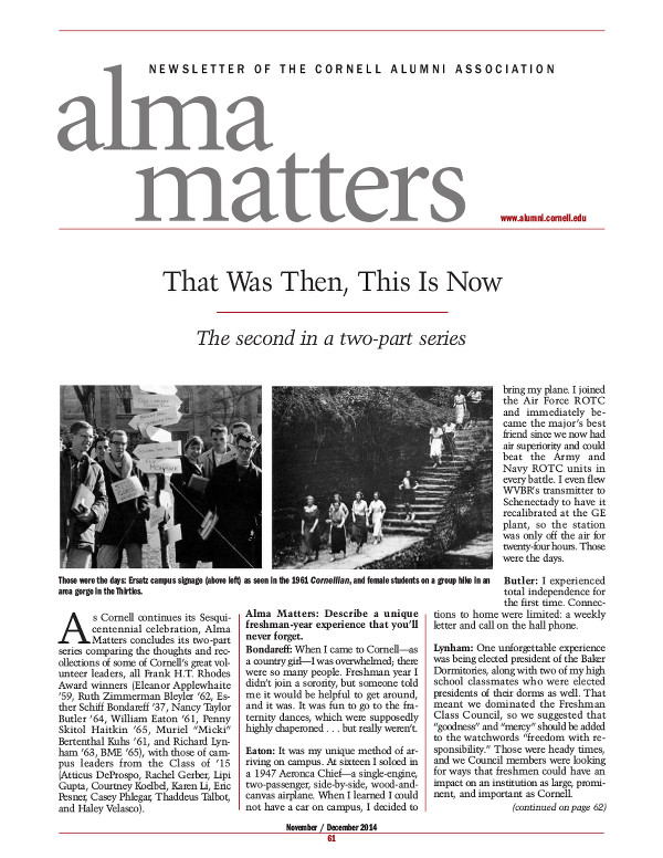 alma matters ND 14 cover