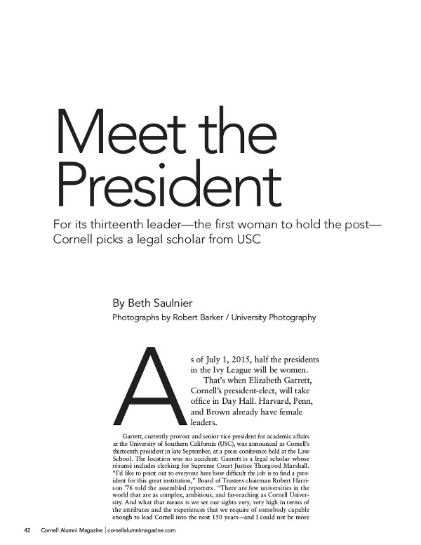 meet the president cover