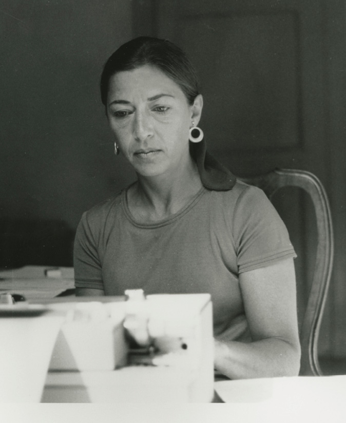 Legal mind: Ginsburg at work in 1977
