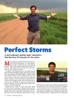 Magazine page for Perfect Storms