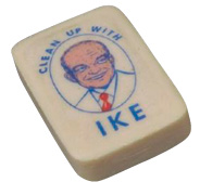 Bar of soap with Ike's face