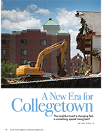 A new era for Collegetown cover page