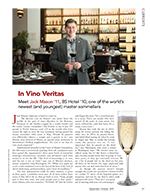 In Vino Veritas cover page