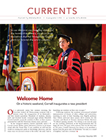 Welome Home cover page