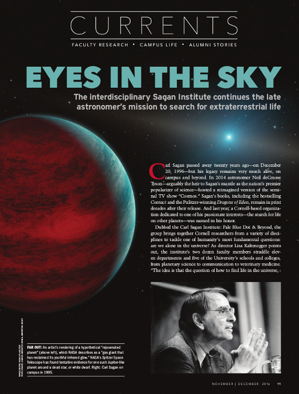 Eyes in the Sky cover page