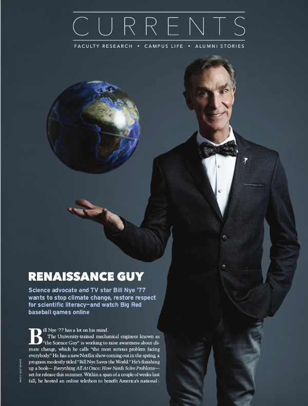 Magazine page of Renaissance Guy