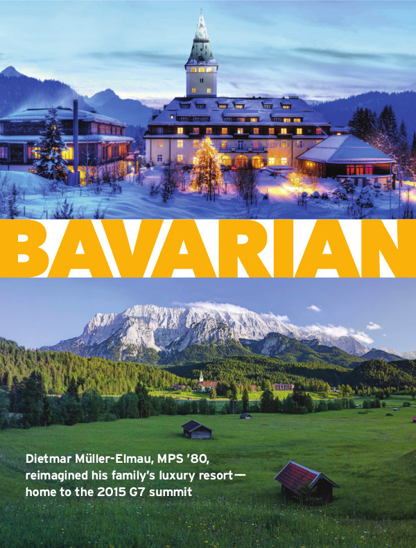 Magazine page of Bavarian Dreams