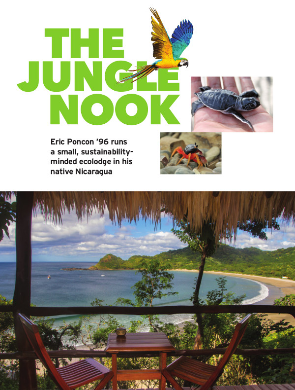 Magazine page of Jungle Nook