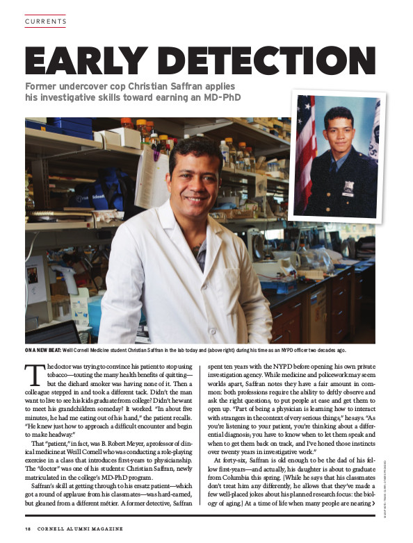 Early Detection cover page