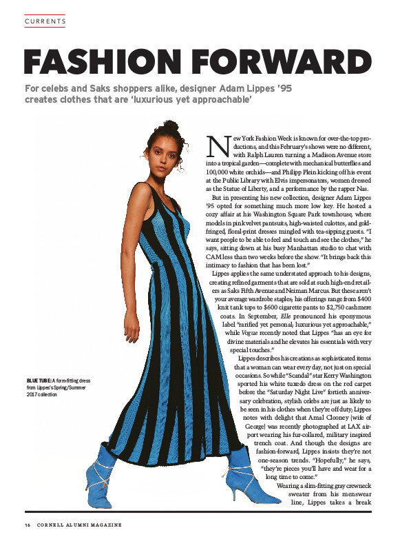 Fashion Forward cover page