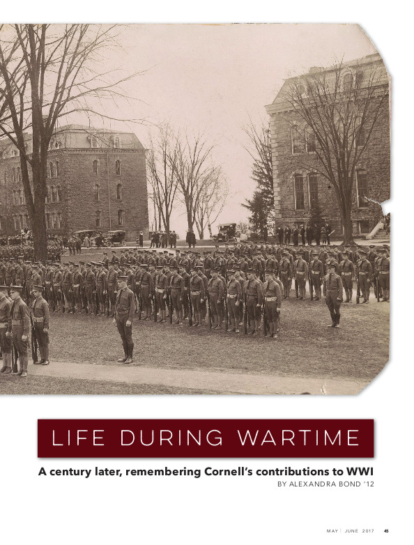 Magazine page image for Life During Wartime
