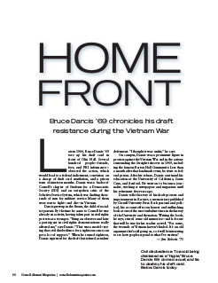 Magazine page image of Home Front