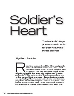 Soldiers Heart cover page