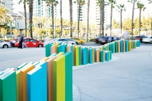 "The ""Tide"" installation in San Diego"