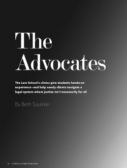 The Advocates cover page