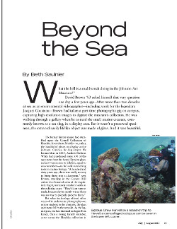 Beyond the sea cover page