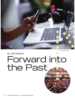 Forward into the past cover page