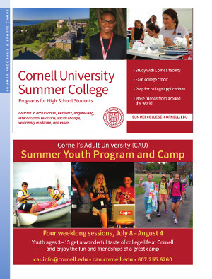 Summer Programs cover page