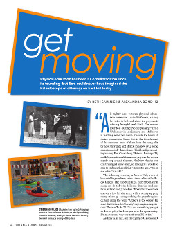 Magazine page image for Get moving