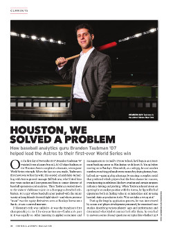 Magazine page image for Houston, we solved a problem