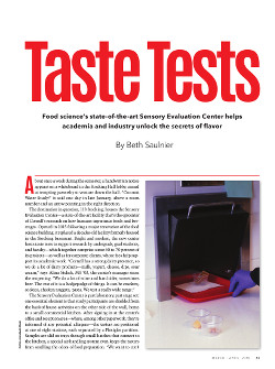 Magazine page image for Taste Tests