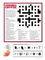 Magazine page image for cryptic puzzle