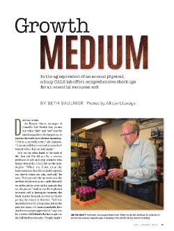 Magazine page image for Growth Medium