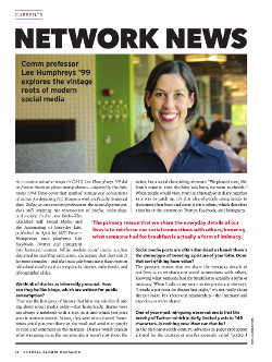 Magazine page image for Network News