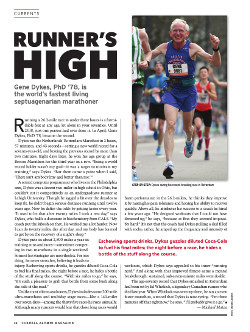 Magazine page image for Runner's High