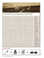 Magazine page image for the Word Search
