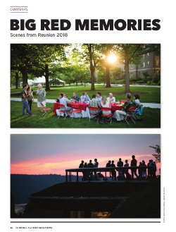 Magazine page image for Big Red Memories