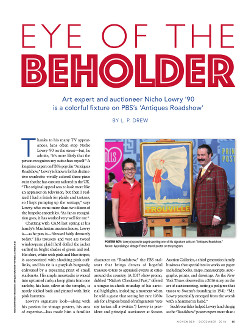 Magazine page image for Eye of the Beholder