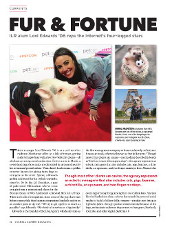 Magazine page image for Fur & Fortune