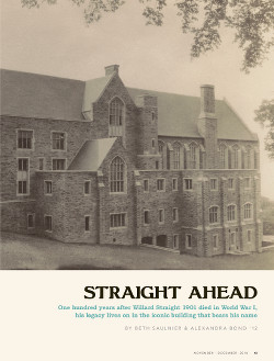 Magazine page image for Straight Ahead
